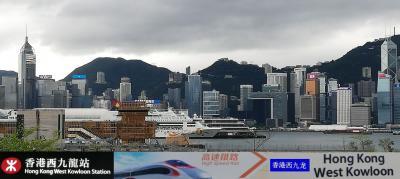 香港西九龍駅から入境し、香港機場からHKexpressで帰国