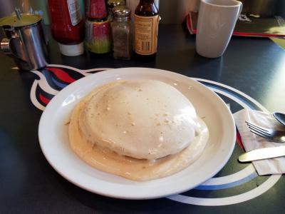 ブーツアンドキモズのパンケーキ