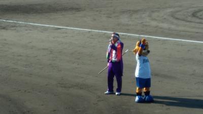 鎌ヶ谷ファイターズスタジアム(教育リーグ)カビーくんがかわいくてしかたがない!今度こそ博士ラーメンを食べる!