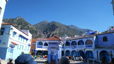 モロッコの青い空、10日間の旅 3日目