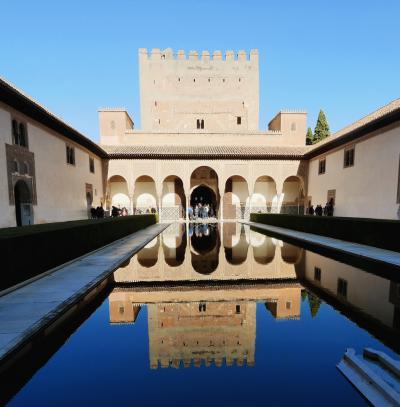 スペインラマンチャ・コスタデルソル旅行25-アルハンブラ宮殿 メスアール宮,コマレス宮