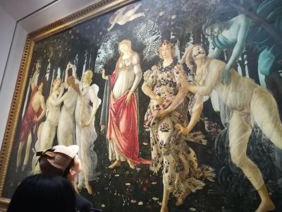 フィレンツェ美術館巡り * イタリア旅行③日目