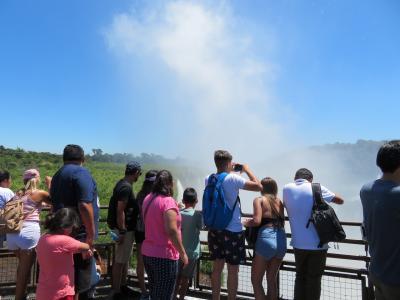 南米の旅(3)イグアスの滝 (アルゼンチン側) 悪魔の喉笛