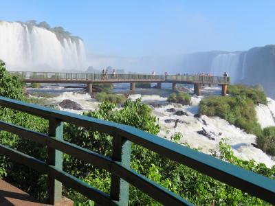 南米の旅(4)イグアスの滝(ブラジル側)