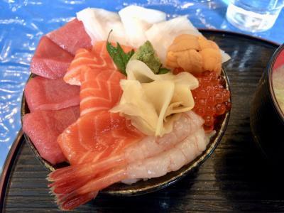 釧路で海鮮丼をハシゴしちゃいました