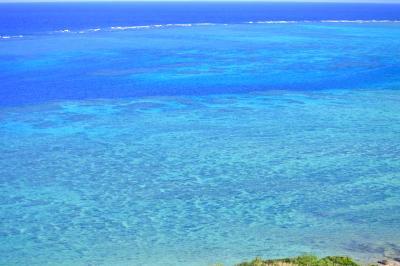 海と空の境界線が無い石垣島二泊三日充実の旅。