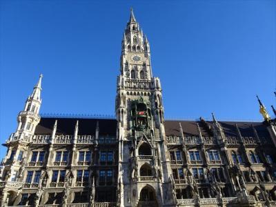 2019年02月ミュンヘン 中心部の街歩き