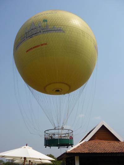 乾季のアンコール遺跡3泊5日の旅 その6 アンコールワットで気球に乗る
