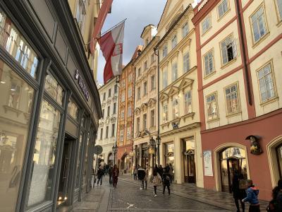 1日目|プラハ2泊3日旅行記|2019年3月学生一人旅
