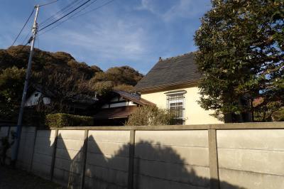 和洋折衷の民家(鎌倉市長谷1)