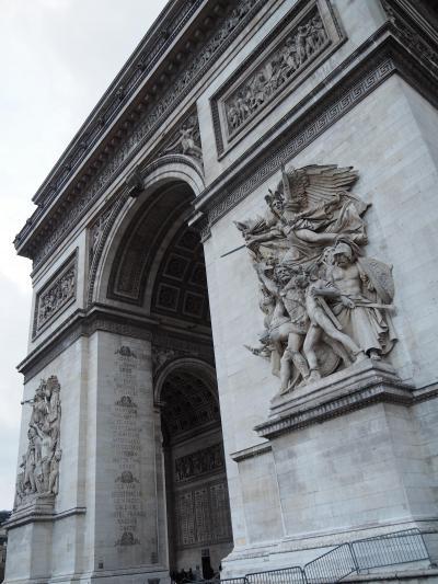 パリ散策 凱旋門~オペラ座(フランスツアー5日目後半-2)