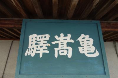 レンタカーで島根の旅 奥出雲の亀嵩駅