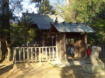 ヤマトタケルの旅 上総国・市原3、神社に呼ばれる