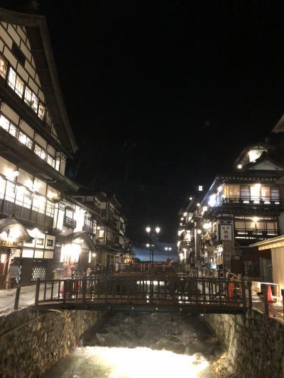 銀山温泉と、最上川ビューそして、仙台松島の旅 その1