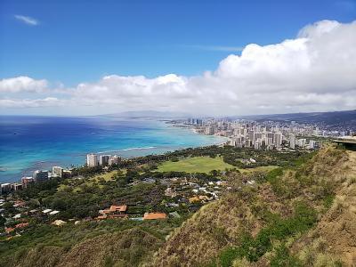 介護を離れてハワイ家族旅行 ① ダイヤモンドヘッド登山とウルフギャング