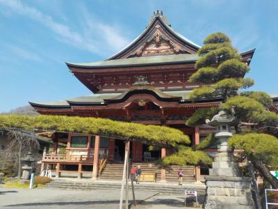 山梨へ! その4 甲斐善光寺~東光寺 歴史の大舞台になった東光寺ですが、有名な庭は見れず。残念!!