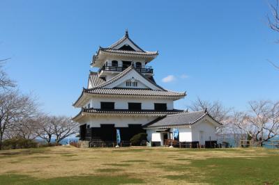 館山城公園と野島崎灯台