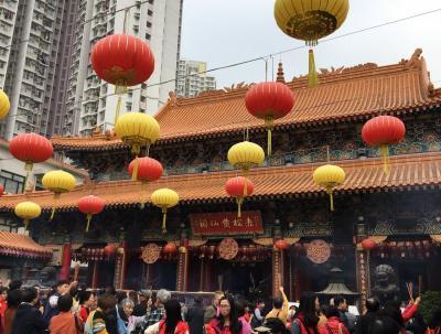 香港:黄大仙初詣~香港文化博物館でブルースリーの魅力に触れ~深セン堂本家で夕飯