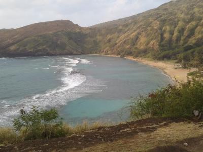 介護を離れてハワイ家族旅行 ③ ハナウマ湾・Wet'n Hawaii・ワイケレ・タンタラス