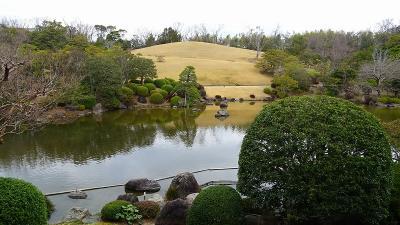 万博公園へ梅花を見に行きました(1) 日本庭園の梅林を見学 上巻。