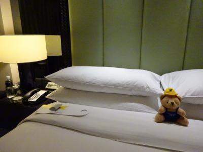 2018GW弾丸バンコク、チェンマイの旅『JWマリオットバンコク ホテル編』クラブルーム JALビジネスBKK⇔タイ航空ビジネスチェンマイ