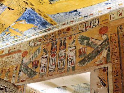 古代エジプト人に畏怖の念=神秘のエジプト・ナイル川クルーズ10日間 17(ルクソール3 王家の谷)