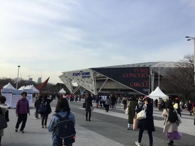 東方神起★circleアンコンへのたび④《2019.3.9 いよいよコンサート》