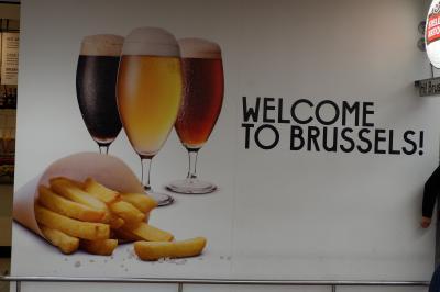 2018年冬の旅① ANAビジネスクラスでブリュッセルへ