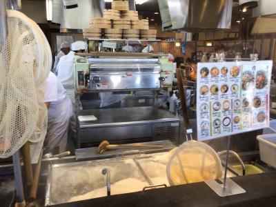 お昼を食べに丸亀製麺でうどんを