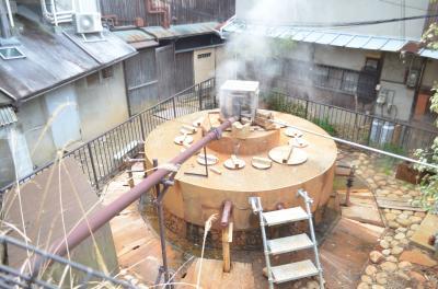 日本三古湯の一つ、有馬温泉