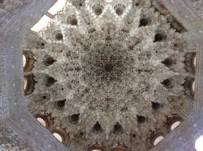 ラテン系を巡る旅 第3章 西班牙  グラナダ  2  アルハンブラ宮殿