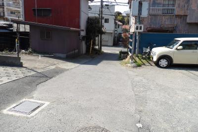 雲頂庵の旧参道
