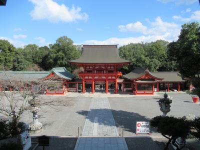 近江神宮、三井寺、滋賀県周遊。