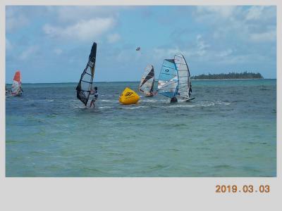 2019年サイパン ウインドサーフィン見学