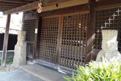 北鎌倉の蕎麦屋の店頭