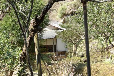 浄智寺の裏界隈にも茶室