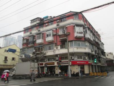 上海の寧浦路・紙片楼・薄い建物