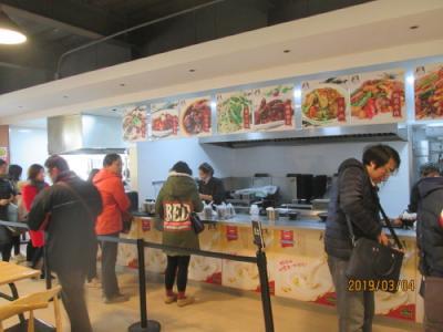 上海の大柏樹・朝食屋・健康小厨・安くて美味い