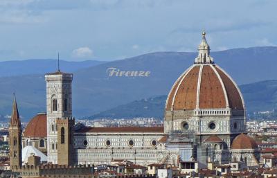イタリア4都市 鉄道の旅 7 ルネサンス発祥の地フィレンツェ
