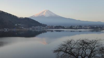 お正月は富士山と河口湖! 風のテラスKukuna 山梨県富士河口湖