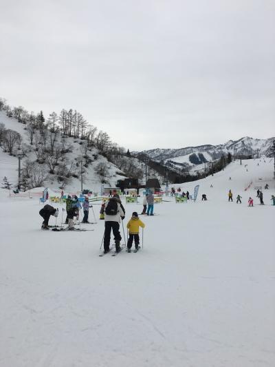 子連れ日帰り春スキー!