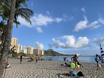 2019年3月2年ぶりのハワイへ家族旅行