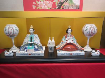 有田焼の「ひな人形巡り」