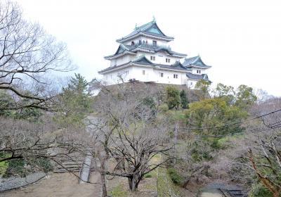 和歌山城と岸和田城