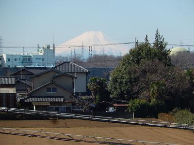 3月18日に見られた素晴らしい富士山