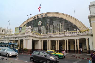 タイ国鉄の普通列車でスローな旅 往路