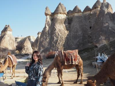 トルコ、可能性無限大ぱわふる女子一人旅  #3 カッパドキア