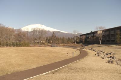 3月の軽井沢で2泊3日