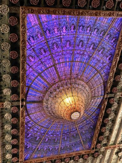 カタルーニャ音楽堂:世界遺産でカルメン鑑賞