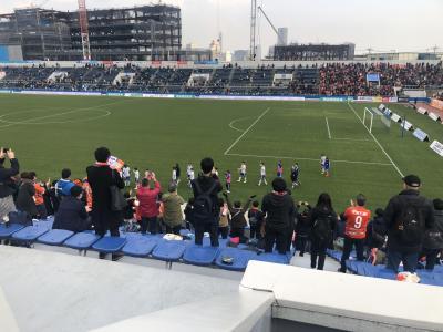【ニッパツ三ツ沢球技場】アルビレックス新潟vs横浜FC戦